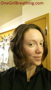 The last cut with my hairstylist before she moves to Colorado....so envious!